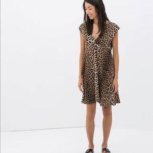 ZARA Animal Print Dress ✨NWT✨